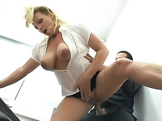 Big Tits Blonde Clothed Hardcore  Natural Secretary