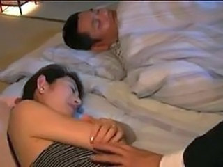 Asian Japanese Sleeping Wife