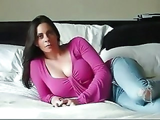 Amateur Big Tits Jeans  Natural Solo