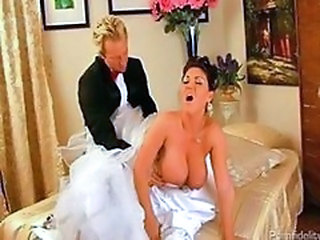 Big Tits Bride Clothed Doggystyle  Natural