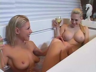 Bathroom Blonde Drunk