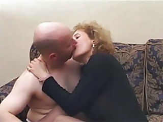 Amateur British European Kissing  Older