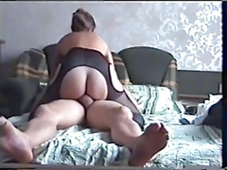 Amateur Homemade Mature Pantyhose Riding