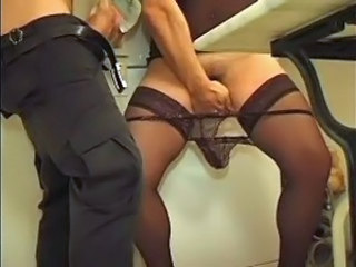 French Handjob Mature Panty Stockings
