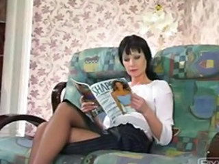 Legs Mom Pantyhose Russian