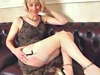 Amateur Mature Stockings Vintage