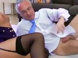European Stockings Wife
