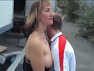 British European  Outdoor Wife