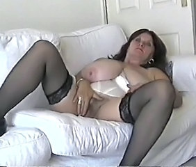 Amateur  Big Tits Masturbating Mature Natural  Stockings