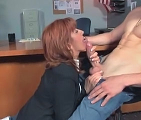Blowjob Latina  Office