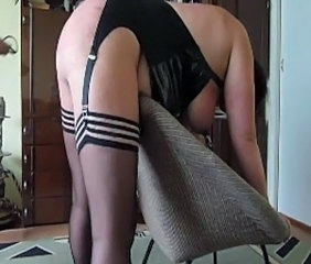 Amateur Homemade Stockings Wife