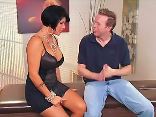 Big Tits Brunette  Mom Old and Young