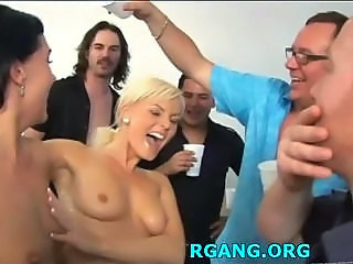 Drunk Gangbang  Party