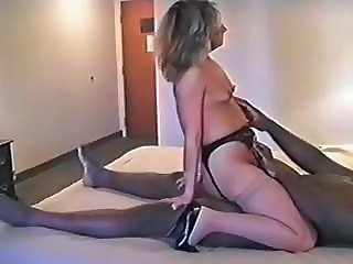 Interracial Mature Riding Small Tits Stockings