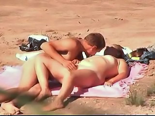 Beach Chubby Nudist Outdoor Voyeur Wife