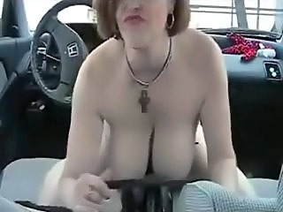 Amateur Big Tits Car  Natural