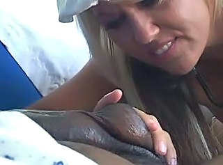Handjob Interracial  Nurse