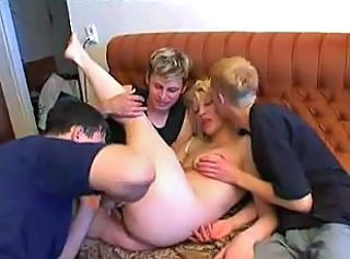 Amateur Family Gangbang Homemade  Mom Old and Young