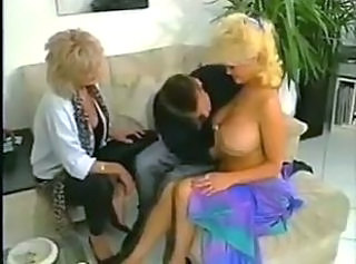 Big Tits Mature Mom Old and Young Threesome Vintage