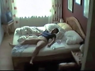 HiddenCam Mom Sleeping