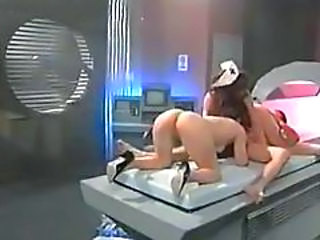 Ass  Nurse Threesome Vintage