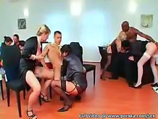 Blowjob  Groupsex  Orgy Party Stockings