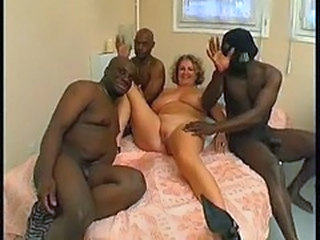 Amateur Big Tits European French Gangbang Interracial Mature
