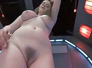 Amazing Big Tits Chubby Machine  Natural Pussy