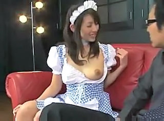 Asian Maid  Uniform