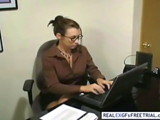 Glasses  Office Secretary