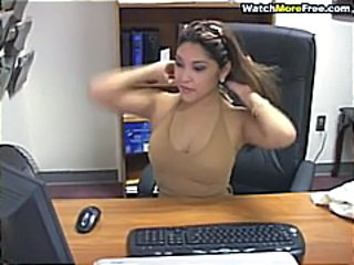 Asian Cute  Office Secretary