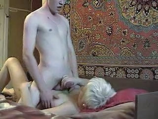 Handjob Mom Old and Young Russian