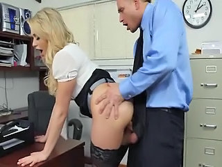 Amazing Clothed Cute Doggystyle Hardcore  Office Pornstar Secretary