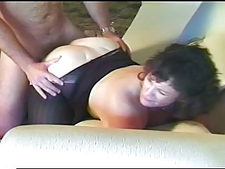 Chubby Doggystyle Hardcore Mature Pantyhose