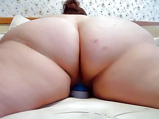 Amateur Ass   Homemade Masturbating Toy