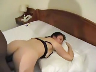 Amateur Ass Cuckold Doggystyle Homemade Interracial Wife
