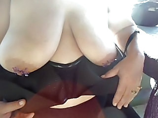 Amateur  Big Tits Nipples  Wife