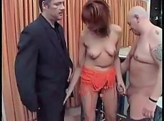 European German Handjob   Threesome
