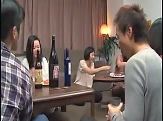 Asian Drunk Japanese Wife