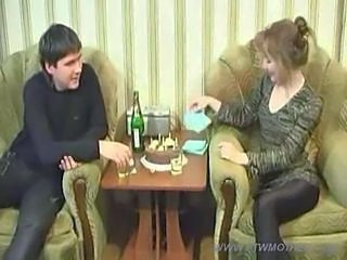 Amateur Drunk  Mom Old and Young