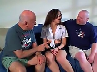 Amateur Cuckold Daddy Old and Young Wife