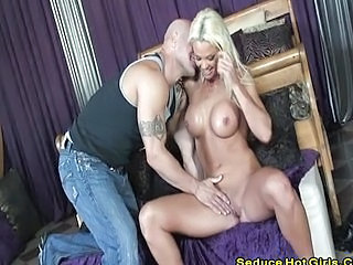 Amazing Big Tits Blonde  Silicone Tits