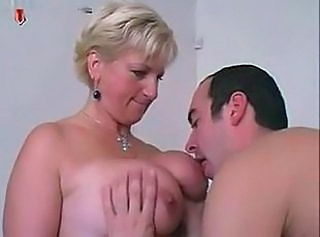 Big Tits Licking Mature Mom