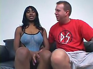 Amateur Ebony Interracial