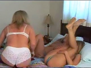 Daughter Family Lesbian  Mom Old and Young Sister Teen