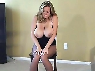 Amateur Big Tits  Natural Pantyhose