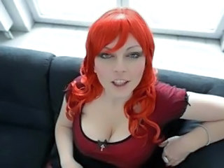 Big Tits European German  Redhead