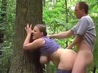 British Doggystyle European  Outdoor  Wife