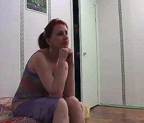 Amateur Homemade  Redhead Russian