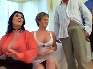 Big Tits  Threesome